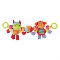 Развивающая подвесная игрушка в коляску Baby Mix TE-9687-48 Африка