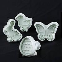 Плунжеры для мастики Empire ЕМ 8602 Пасхальный набор 4 шт