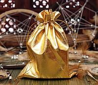Чехол для карт таро, мешочек из парчи Золото 14х20 см