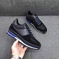 Кожаные мужские кроссовки Louis Vuitton
