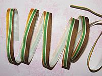 Лента репсовая Полосы 1см*1 м Fantasia ribbon