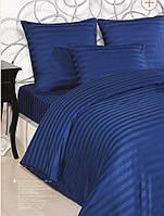 Постель турецкой торговой марки Altinbasak евро сатин синий
