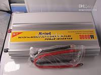 Автомобильный преобразователь авто инвертор + Зарядное 12V-220V, 3000W, 220В 3000Вт