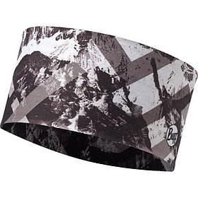 Повязка BUFF HEADBAND mountaintop grey