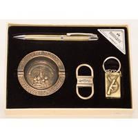 PN4-49 Подарочный набор зажигалка пепельница брелок для мужчин