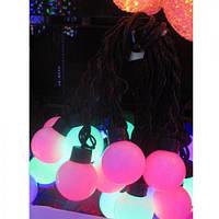 Гирлянда цветная лампочки 3,5м