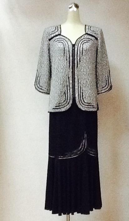 Костюм РАЗМЕР+ легкий блуза с юбкой