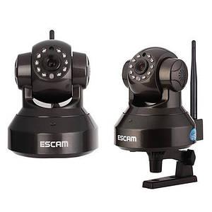 ESCAM Black Pearl QF100 Wifi IP камера поворотна