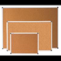 Доски пробковые в алюминиевой рамке