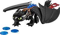 Большой дракон Беззубик де-люкс 38 см Dragons
