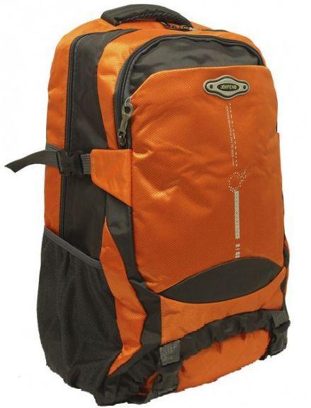 Туристический рюкзак JDXFENG R50230, серо-оранжевый 30 л
