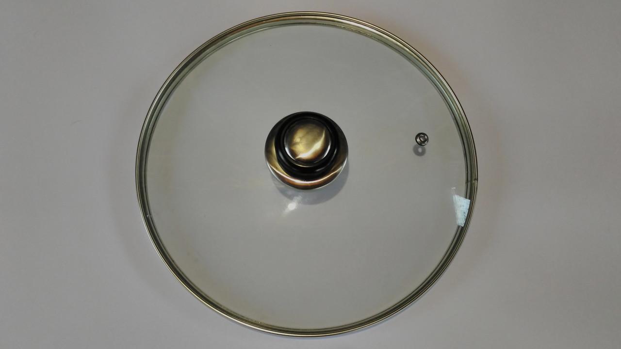 Крышка стеклянная на сковораду (18 см)