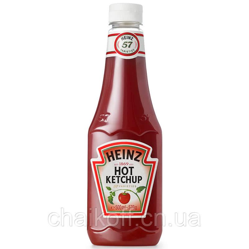 Кетчуп Томатный Heinz Hot Ketchup (570 г)