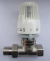 Клапан (кран) прямой термостатический RTL РТЛ с термоголовкой для контура теплого пола