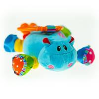 Активная игрушка-подвеска  Biba Toys Бегемотик Риггл