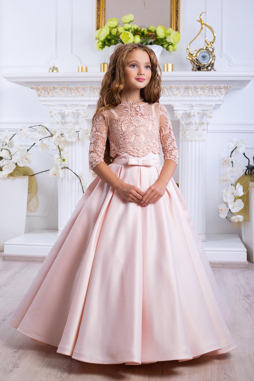 4b7abb43afb Платье выпускное детское нарядное для девочки D991