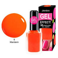 Лак для ногтей Jerden gel effect 9мл №9 mandarin