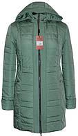 Весенняя женская куртка больших размеров 54-66