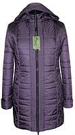 Весенняя женская куртка больших размеров 54-68