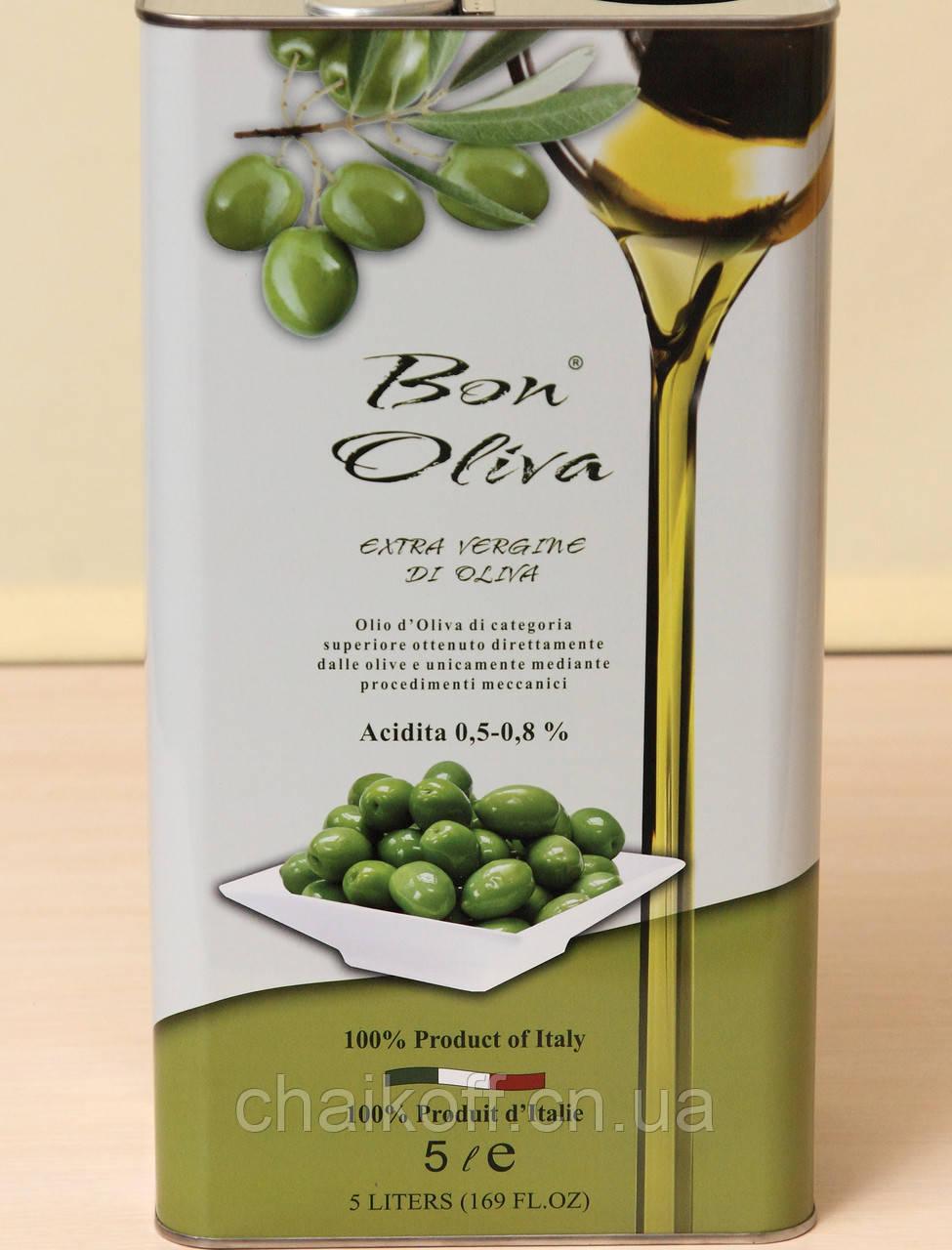 Оливковое масло Bon Oliva Extra Vergine Di Oliva 5l (шт.)