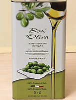 Оливковое масло Bon Oliva Extra Vergine Di Oliva 5l (шт.), фото 1