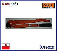 Клещи трубные Neo 02-120