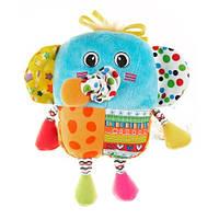 Активная игрушка-подвеска Biba Toys Веселый слоненок