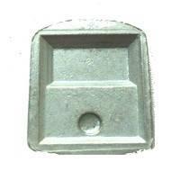Подставка пятак под зеркало зад.вида 2108-2109 металл