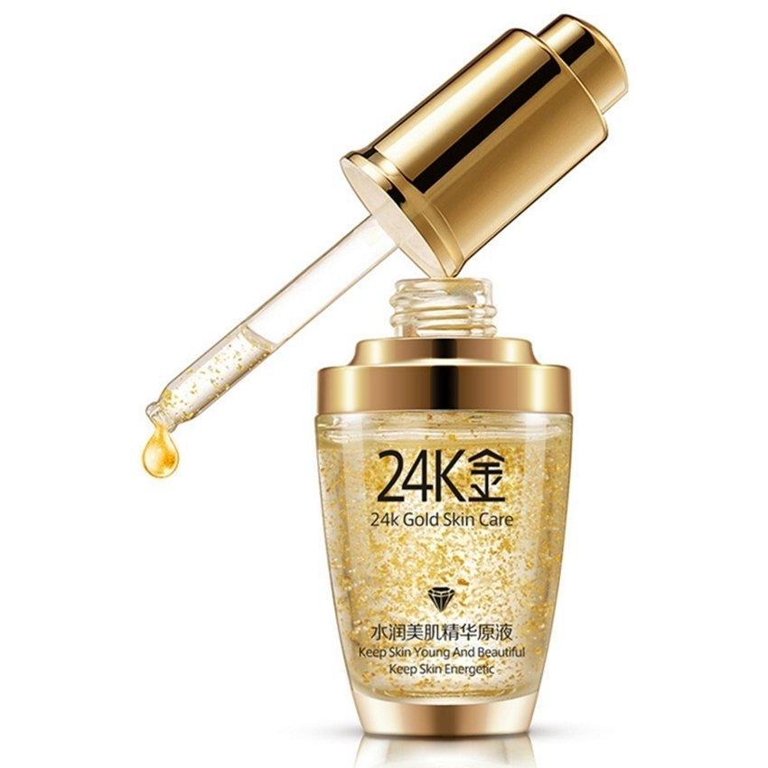 Сыворотка для лица с гиалуроновой кислотой и частичками золота BIOAQUA 24K Gold Skin Care