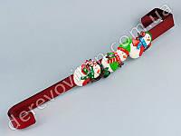 Подвеска-крючок дверной для рождественского венка, 38×6 см