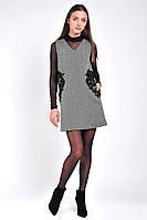 Платье женское шерстяное короткое