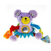 Активная игрушка-подвеска  Biba Toys Забавный мышонок