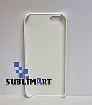Чехол для 3D сублимации на Iphone 5/5S матовый, фото 3