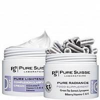 Бьюти-комплекс Осветление и снятие стресса (набор) PURE SUISSE