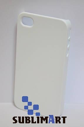 Чехол для 3D сублимационной печати на Iphone 4/4S матовый, фото 2