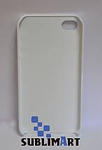 Чехол для 3D сублимационной печати на Iphone 4/4S матовый, фото 3