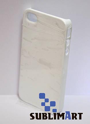 Чехол для 3D сублимации на Iphone 4/4S глянец, фото 2