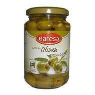 Оливки зеленые без косточки Baresa 340г (шт.), фото 1