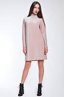 Повседневное платье из люрекса