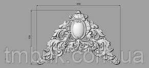 Горизонтальный деко 20 для мебели - 200х130 мм, фото 2