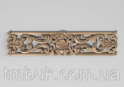 Горизонтальный декор 27 деревянная накладка - 350х80 мм