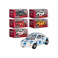 "Машина металл. ""Kinsmart"" Volkswagen New Beetle Soccer, KT-5028-WR"