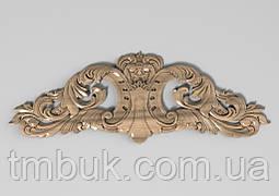 Горизонтальный декор 38 барокко накладка - 250х88 мм