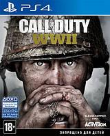 Игра Call of Duty: WWII (PS4, русская версия)