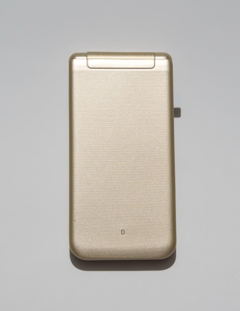 Телефон-раскладушка Sigma X-style 28 Flip Gold-mokka