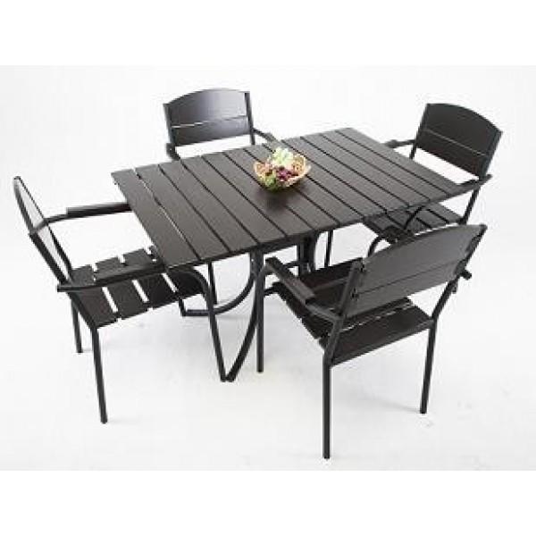 Комплект меблів «Феліція» (стіл + 4 стільця)
