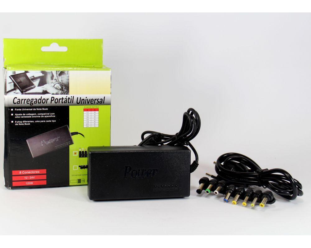 Универсальное зарядное устройство для ноутбуков Laptop 120W