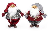 Мягкая новогодняя игрушка Санта 52см, 2 вида