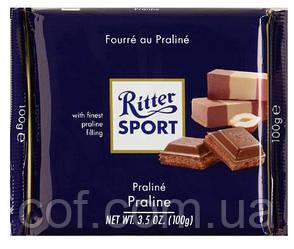 Шоколад молочный Ritter Sport Praline 100г (Германия)