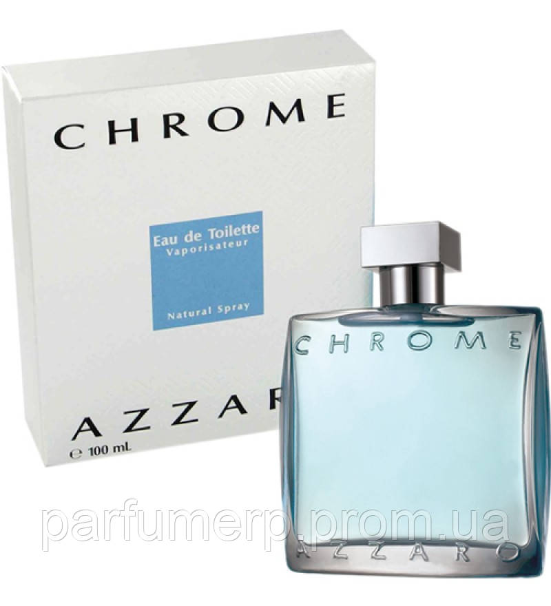 Azzaro Chrome (100мл), Мужская Туалетная вода  - Оригинал!